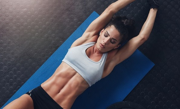 get perfect abs
