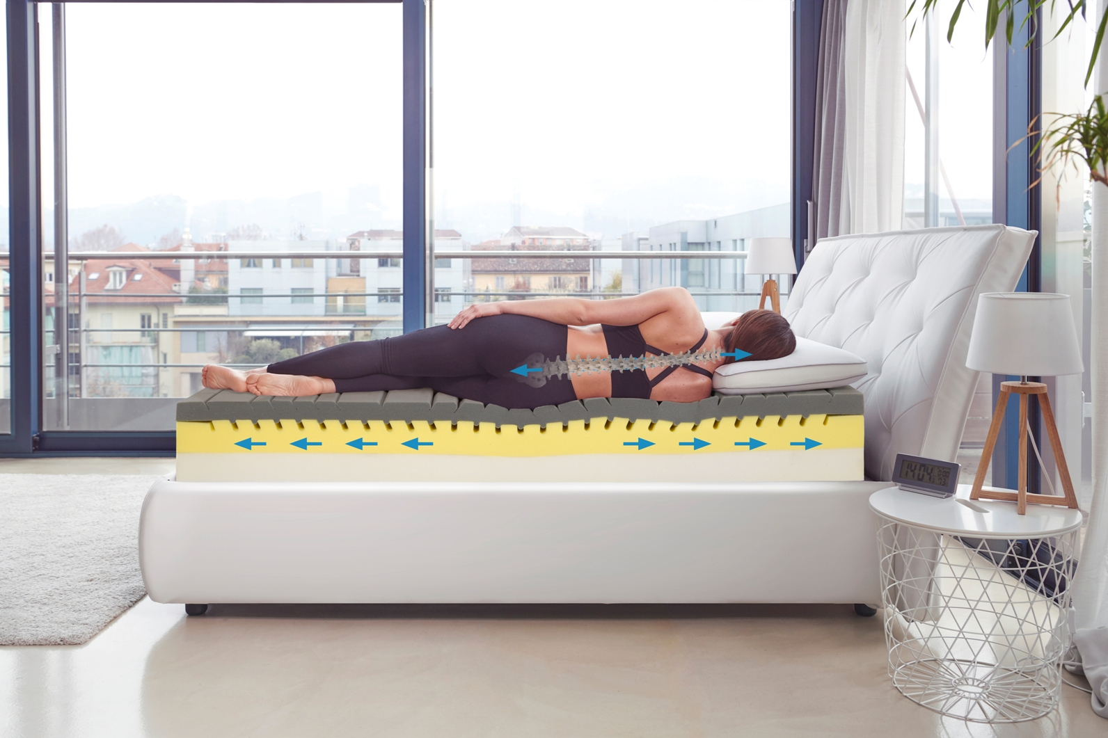 right mattress for lower back pain