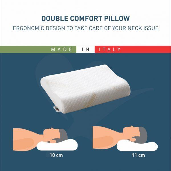 Double Comfort Magniflex Pillow