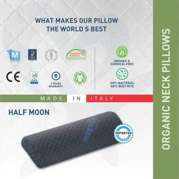 Half moon Magniflex pillow