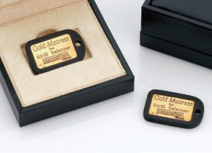 Personalised Gold Label
